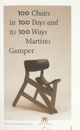 100 Chairs in 100 Days in 100 Ways