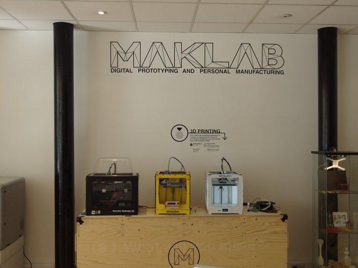 3D printers at MAKLab Glasgow