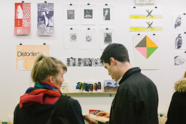 Gallery at East London Printmakers  Image by Barbora Mrazkova