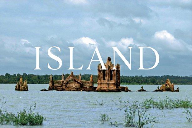 Island at the British Pavilion in Venice © John Morgan Studio for British Council