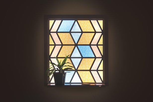 New British Inventors at Santiago Design Biennial Current Window / © Caventou (Marjan van Aubel and Peter Krige)