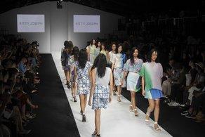 Kitty Joseph at Jakarta Fashion Week  Image courtesy British Council Indonesia