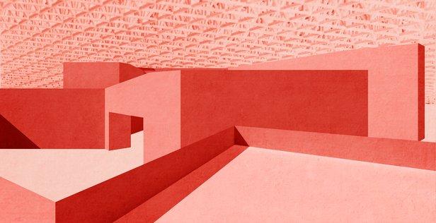 Carmody Groarke to design UK Pavilion at Guadalajara Book Fair Concept sketch for the 2015 UK Pavilion at FIL / Carmody Groarke