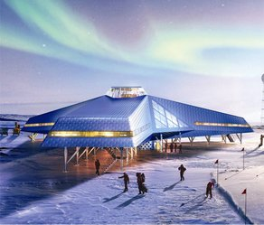 Ice Lab Opens in New Zealand  Architect Impression, Jang Bogo, Space Group and KOPRI
