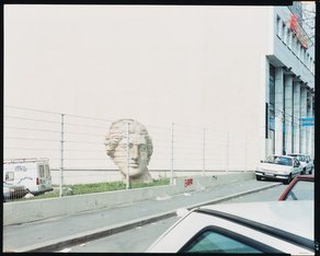"""Canadian Centre for Architecture: Emerging Curator Programme 2016 Guido Guidi, photographer. St-Denis, France, from the series """"In Between Cities,"""" April 1996. Chromogenic colour print, 20.2 x 25.3 cm. CCA Collection. PH2003:0096 © Guido Guidi"""