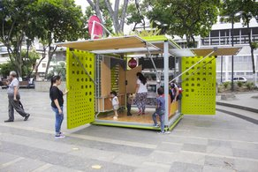 Exhibition 'Reframing Spaces - the Catalyst Cube in Caracas' Rui Cordovez