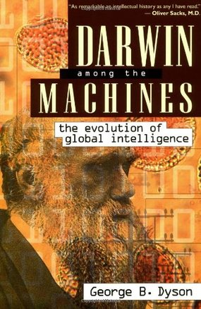 Stephen Calcutt's Book Selection  Darwin Amongst the Machines book cover © Helix Books
