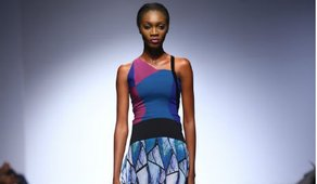 Ejiro Amos Tafiri Designer: Ejiro Amos Tafiri,  photographer: Kola Oshalusi (Insigna) for Lagos Fashion and Design Week