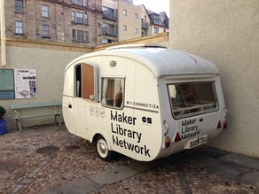 Film: Maker Library Network Caravan at London Design Festival 2014