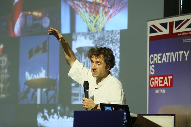 New British Inventors: Inside Heatherwick Studio in Taiwan  Public Lecture by Thomas Heatherwick on 5 September 2015, Hong Kong © Cheung Chi Wai and British Council