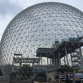 Canada Travelogue #2 'Biosphere' and the remnants of the USA Pavilion at Expo 67 / PHOTO BY JOÃO GUARANTAN