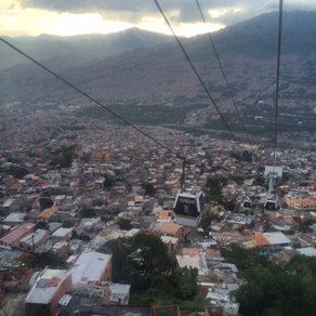 Colombia Travelogue #2 Medellin seen from the metrocable / photo by João Guarantani