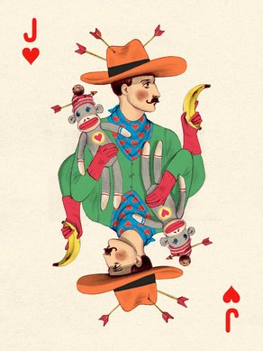 The AOI Illustration Awards 2014 - Call for Entries  Jack of Hearts by Jonathan Burton
