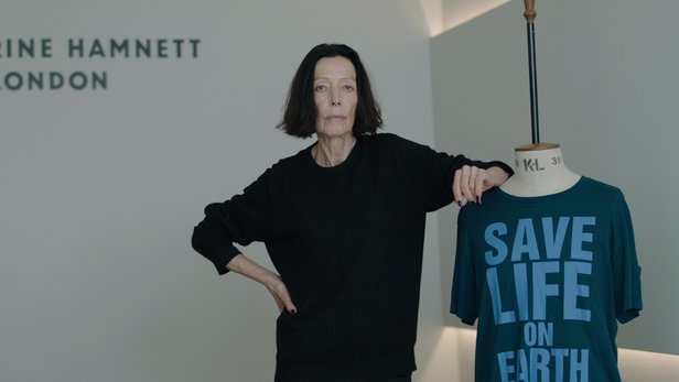 Fashion Revolutionaries Katharine Hamnett for Fashion Revolutionaries