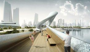 Winners of the Think Design MAKE competition to visit the UK Kang Jian - Silk Bridge