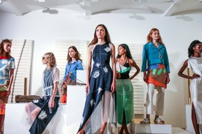 International Fashion Showcase designers at London Fashion Week Rejina Pyo SS2016