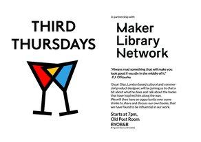 Maker Library Book Club with mentor Oscar Diaz