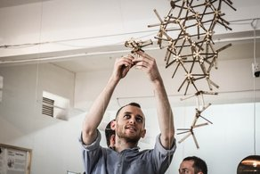 Maker Library Network Workshop Programme at Vitra Design Museum Gallery  Photographer: Keziah Suskin