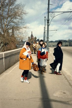 Back in the USSR: An adventure through fashion film  On the Streets of Moscow in 1985