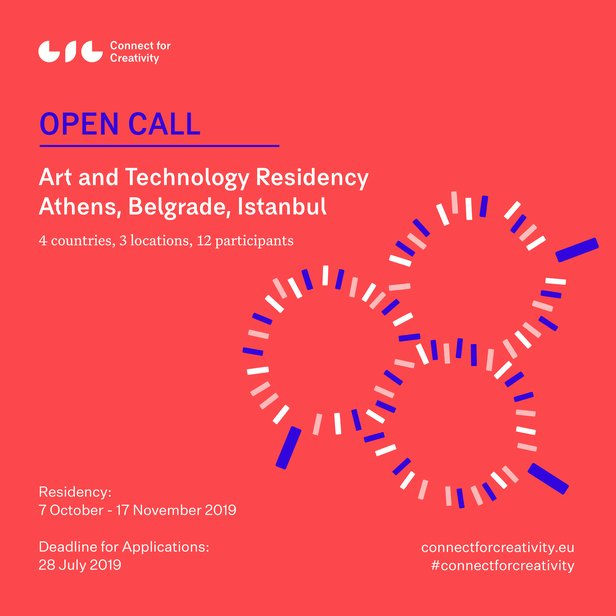 OPEN CALL: CONNECT FOR CREATIVITY'S ART AND TECHNOLOGY RESIDENCY