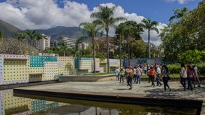 Open Call: Reframing Green Spaces Caracas Patio de los Azulejos, Caracas, photo by Fundación Espacio