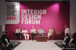 Jason Holley at the Sri Lanka Design Festival 2014