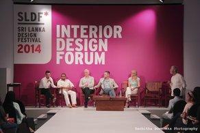 Jason Holley at the Sri Lanka Design Festival 2014