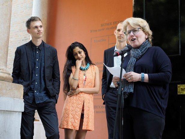 Home Economics Opens at the British Pavilion © Cristiano Corte