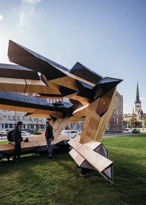 Tallinn Architecture Biennale: Digital Building Blocks © Tallinn Architecture Biennale / photo by Tõnu Tunnel