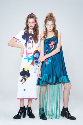 Fashion DNA Ukraine with Yana Chervinska Yulia Zhdan
