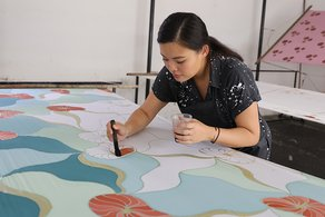 Why I Make: Batik in Malaysia with Fern Chua British Council