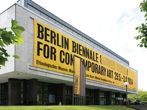 Zak Group Designs Identity of 8th Berlin Biennale for Contemporary Art © 2014 Zak Group, Photography: Brotherton—Lock