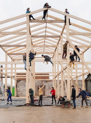 Winners of the Turner Prize 2015: Assemble © Assemble