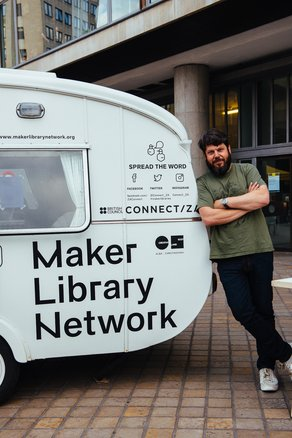 Maker Library Network One Year On: Milestones & Hopes  Photograph by Mike Massaro