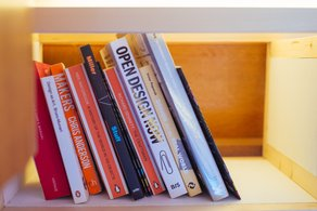GRAS' Book Selection  Photo by Mike Massaro