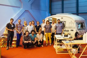 Maker Library Network at LDF 2014  Photograph by Mike Massaro