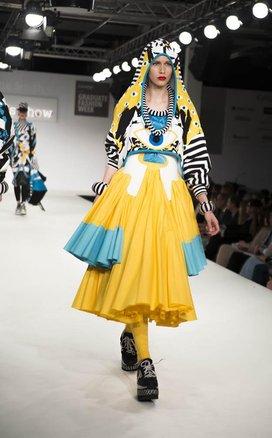 GFW 2014: Holly Jayne Smith Wins The British Council International Residency Scholarship Award Photo by Graduate Fashion Week