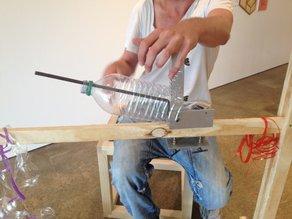 I AM U at 75 Harrington Project: Pet Bottle Stripper