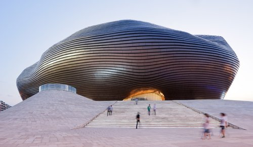 Is there such a thing as national architecture?, ORDOS MUSEUM BY MAD ARCHITECTS. PHOTO: IWAN BAAN