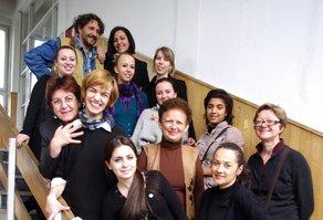 Skopje inclusive zone workshop Team picture. Photo courtesy Florie Salnot