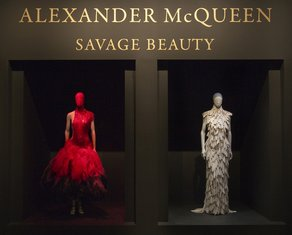 Alexander McQueen: Savage Beauty, New York Title Gallery courtesy of The Metropolitan Museum of Art
