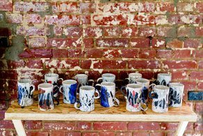 The Village Cafe Cups designed by Linda Brothwell. Photo: Igor Tyuterev