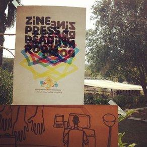 Unbox Festival's Zine Press The Zine Room