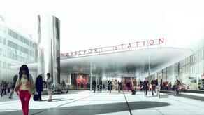 Atlas of the Unbuilt World: Meet the Architects Norreport Station. Image courtesy of COBE & Gottlieb Paludan Architects