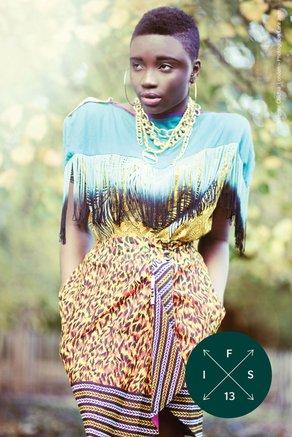 The International Fashion Showcase 2013 - Your Guide! Designer Chichia London, Photograph Lara Jade