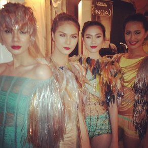Fashion designer Jane Bowler visits the Philippines  The SS 12 Collection. Photo courtesy: Jane Bowler