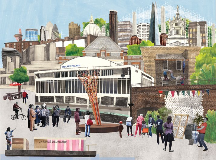 Opportunity: London Festival of Architecture seeks Programme Director London Festival of Architecture 2013. Illustration by Lucy Dazell.