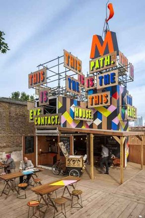 POINT Conference   Movement Cafe. Photo courtesy Morag Myerscough