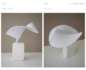 IADS: Silver Pigeon Award 2012 Silver Pigeon Award design. Image courtesy of Tomoko Azumi