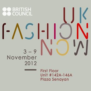 UK Fashion Now in Jakarta Fashion Week 2013